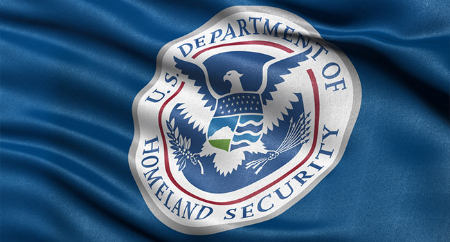 department of homeland security flag