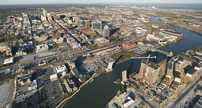 baltimore aerial view