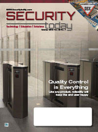 Security Today Magazine Digital Edition - October 2019