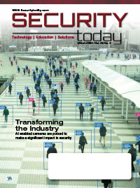Security Today Magazine Digital Edition - March 2020
